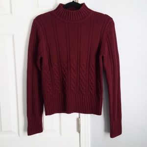 Pendleton mock neck sweater